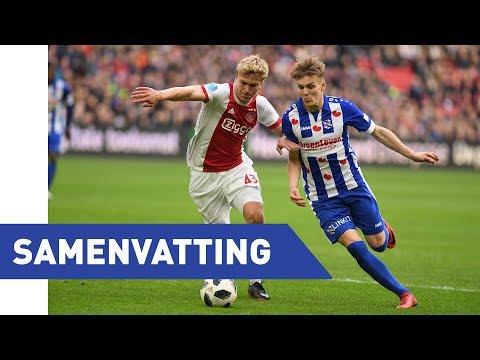 Eredivisie speelronde 27: Ajax - sc Heerenveen (2017 - 2018)