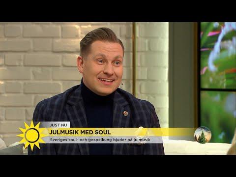 """Sveriges soulkung: """"Uppvuxen med pärleporten""""  - Nyhetsmorgon (TV4)"""