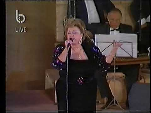 Najah Salam 1991 festivel anjar tarab song