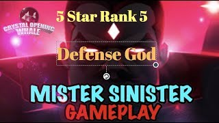 Defensive GOD -Offensive Stud 5 Star Rank 5 Mr Sinister Gameplay- -Marvel Contest of Champions