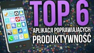 Top6 Aplikacji Poprawiających Produktywność i Organizację Czasu