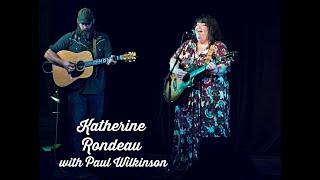 Katherine Rondeau with Paul Wilkinson!