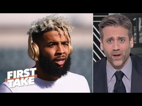 Trading Odell Beckham Jr. is 'an idiotic move' by the Giants - Max Kellerman | First Take