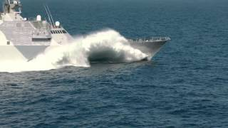 United States Navy: USS Freedom Sports New Paint; Gears Up for Deployment