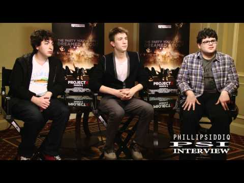 Project X interview with Thomas Mann,Oliver Cooper and Jonathan Daniel Brown with Phillip Siddiq!