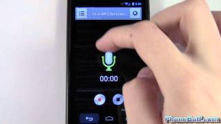Video review of the hi-q voice recorder app available from google play (previously known as android market). this has best sound quali...