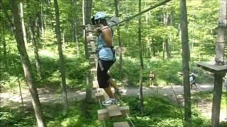 Treetop Trekking & Ziplining!