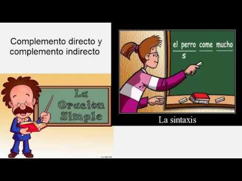 Complemento directo e indirecto  YouTube