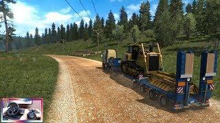 ETS2 #44 | Camión prestado Volvo FH16 39 Toneladas | ROAD OF TRUCKER