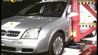 Краш тест Opel Vectra C 2002 (E-NCAP ADAC)