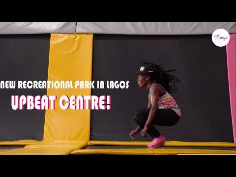 The NEW TRAMPOLINE PARK IN LAGOS Nigeria - UPBEAT CENTRE | The Fisayo