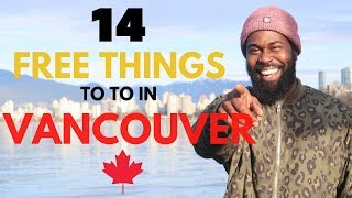 14 FREE Things To Do In Vancouver, CANADA    TRAVEL GUIDE