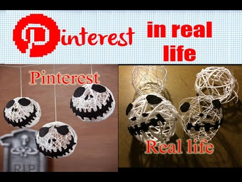 pinterest in real life jack skellington decoration balls nightmare before christmas - Jack Skeleton Christmas Decorations