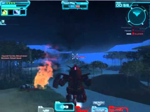 [SDGO SEA]Psyco Gundam AR in jungle combat
