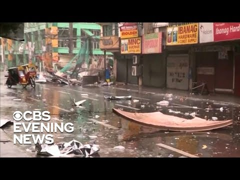 Typhoon Mangkhut kills at least 12 in Philippines