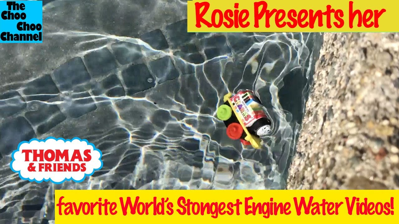 Thomas & Friends Favorite Water World's Strongest Engine with Charms Rosie Mini