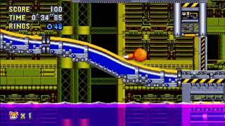 "Sonic Mania (PC) - Chemical Plant 1 Tails: 36""31 (Speed Run)"