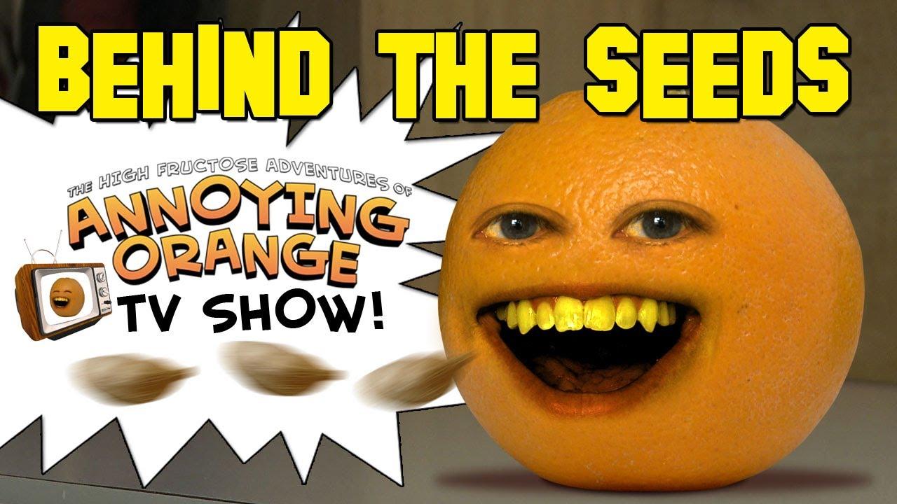 annoying orange behind the seeds youtube. Black Bedroom Furniture Sets. Home Design Ideas