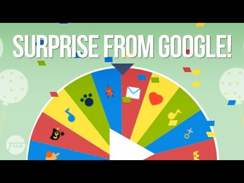 Google 19th Birthday Surprise Spinner Youtube