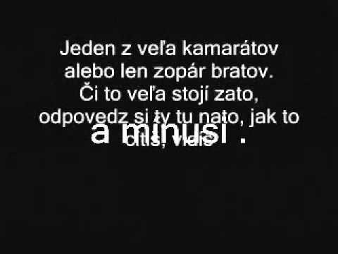 Kali a Peter Pann - Čo je vác + Text
