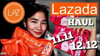 Lazada Haul (Online Revolution Sale! 11.11, 12.12) (Philippines) | Positive Jane