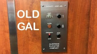 Alderson Hydraulic Elevator at Ste Genevieve County Memorial Hospital