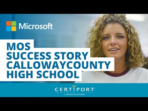 Calloway County High School MOS Success Story