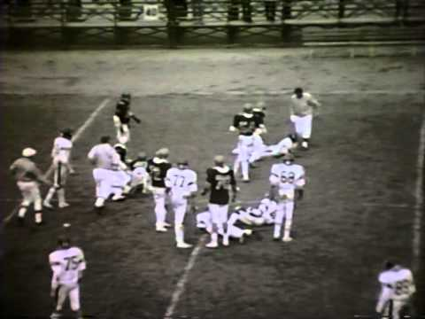 Detroit Servite Football game vs Benedictine 1980