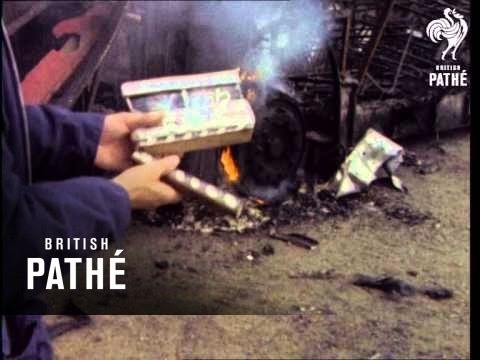 Burning Bus  Belfast 19601969