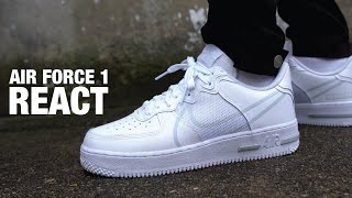 Nike AIR FORCE 1 Low REACT REVIEW & ON FEET