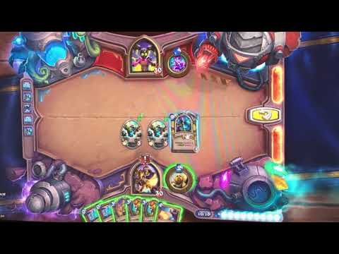 Hearthstone The Boomsday Project Challenge 7 of 7 - Lethal - Myra Rotspring 4 Horseman