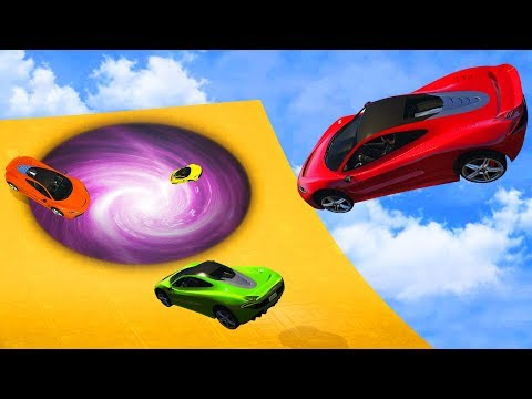 CRAZY TELEPORTING SUPERCAR RACE! (GTA 5...