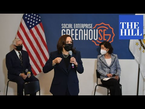 Kamala Harris meets with small business owners for roundtable discussion on social impact
