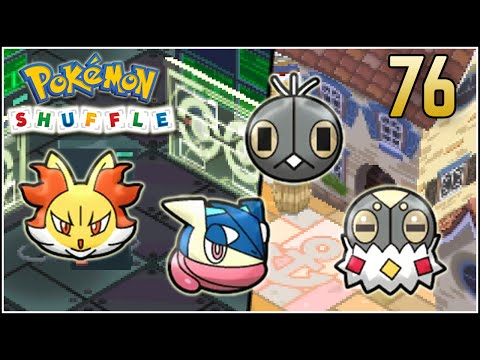 Pokémon Shuffle S Rank 76 - DELPHOX & GRENINJA TROLEANDO D':