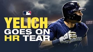 Yelich continues HR barrage in 2019!