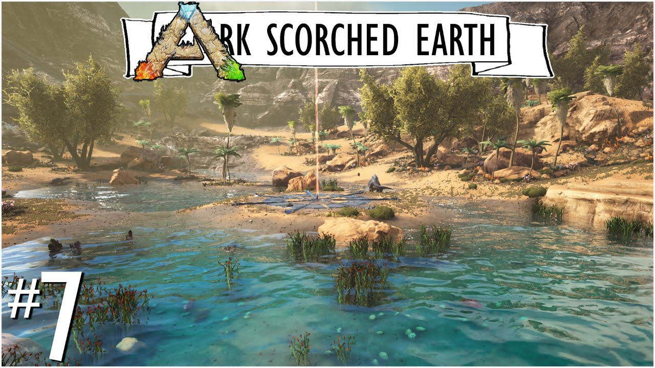 Ark Karte Scorched Earth.The Most Beautiful Oasis Ep 7 New Base Location Ark Scorched Earth Unitetheclans