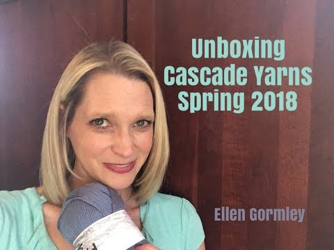Unboxing Cascade Yarns Spring 2018