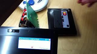 Pass-Sicherheit: RFID-Kreditkarte mit Kassenterminal auslesen und Daten-String weiterverarbeiten