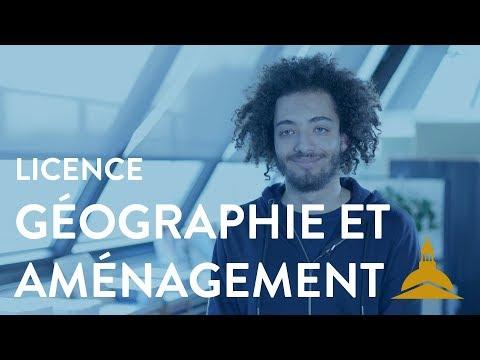 La Licence Géographie Et Aménagement