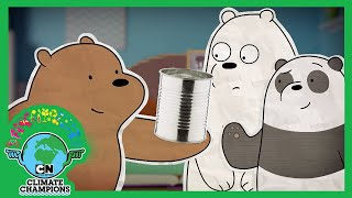 Climate Champions | Guide to Plastic, Clean Energy, Trees and Upcycling | Cartoon Network UK