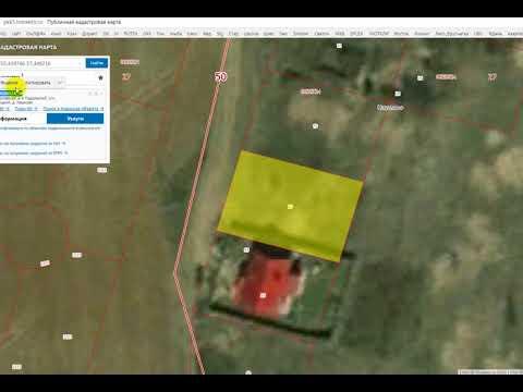 Как получить кадастровый план территории на сайте росреестра