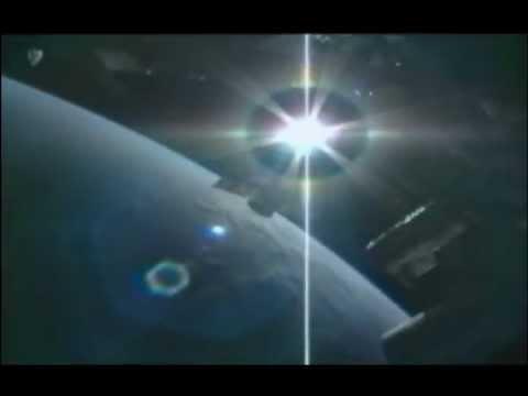 Закат из космоса. Веб-камера на МКС.