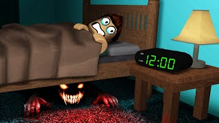 DON'T WAKE UP at MIDNIGHT in Roblox..