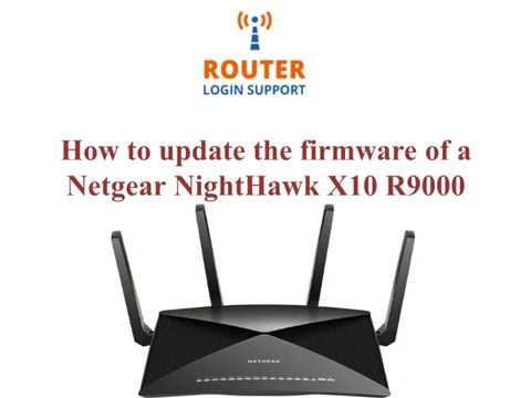 How to update firmware of Netgear Nighthawk | Router Firmware Update