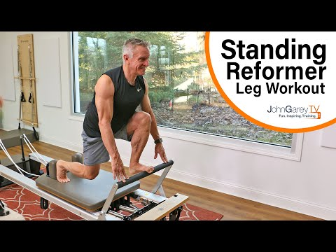 Standing Pilates Reformer Leg Workout
