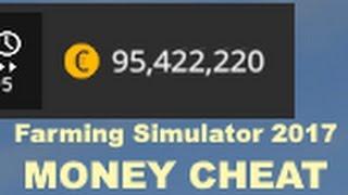 Farming Simulator 2017 MONEY CHEAT