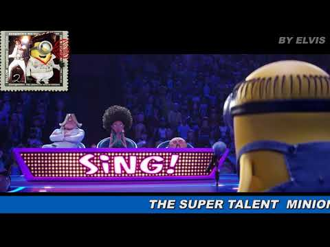 The Minion Singing Song From King Elvis Youtube