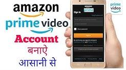 amazon Prime video pe id/account kaise banaye || how to create amazon prime video account