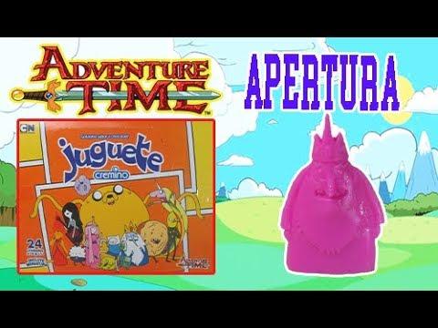 Hora de aventura chocolate juguete apertura de caja youtube for Hora de apertura castorama