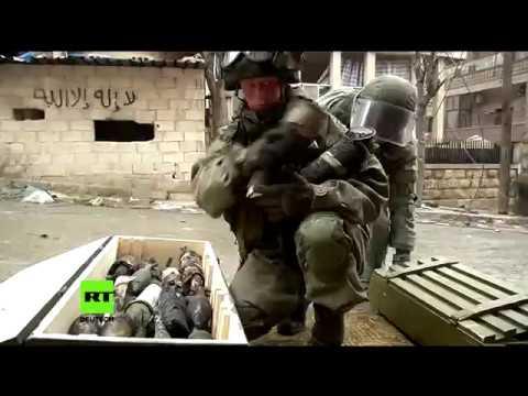 Russische Militärs finden in Aleppo Waffen aus den USA, Deutschland und Bulgarien
